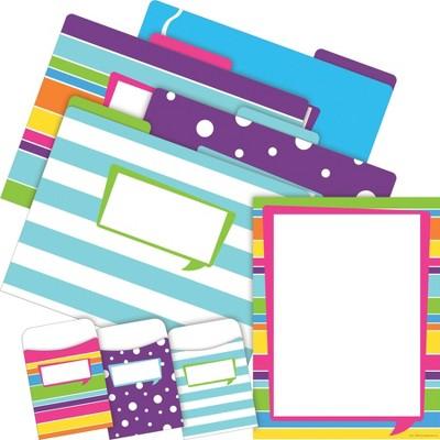 File Folders Organizer Set On-Trend 92 per Set Happy - Barker Creek
