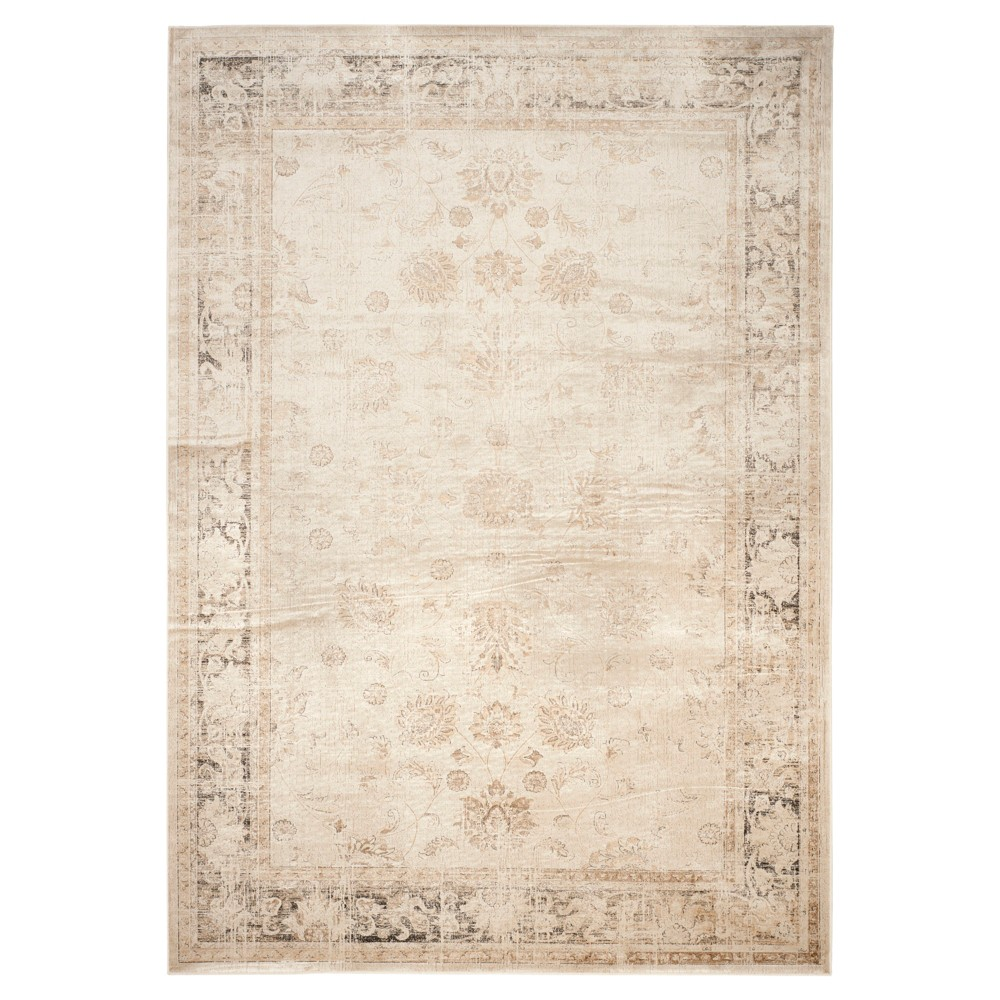 Matilde Vintage Area Rug - Stone (Grey) (8'x10') - Safavieh