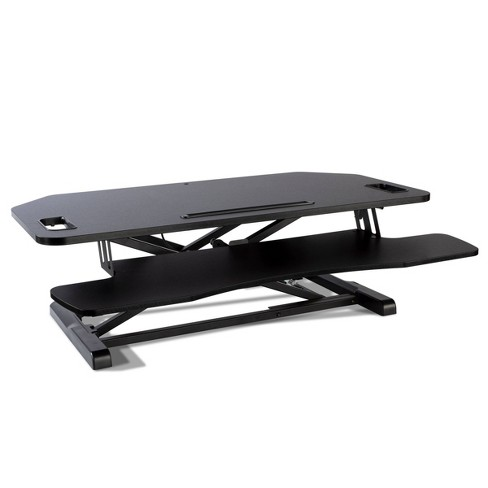 Adjustable Height Extra Large Standing Desk Converter Black - Atlantic - image 1 of 4