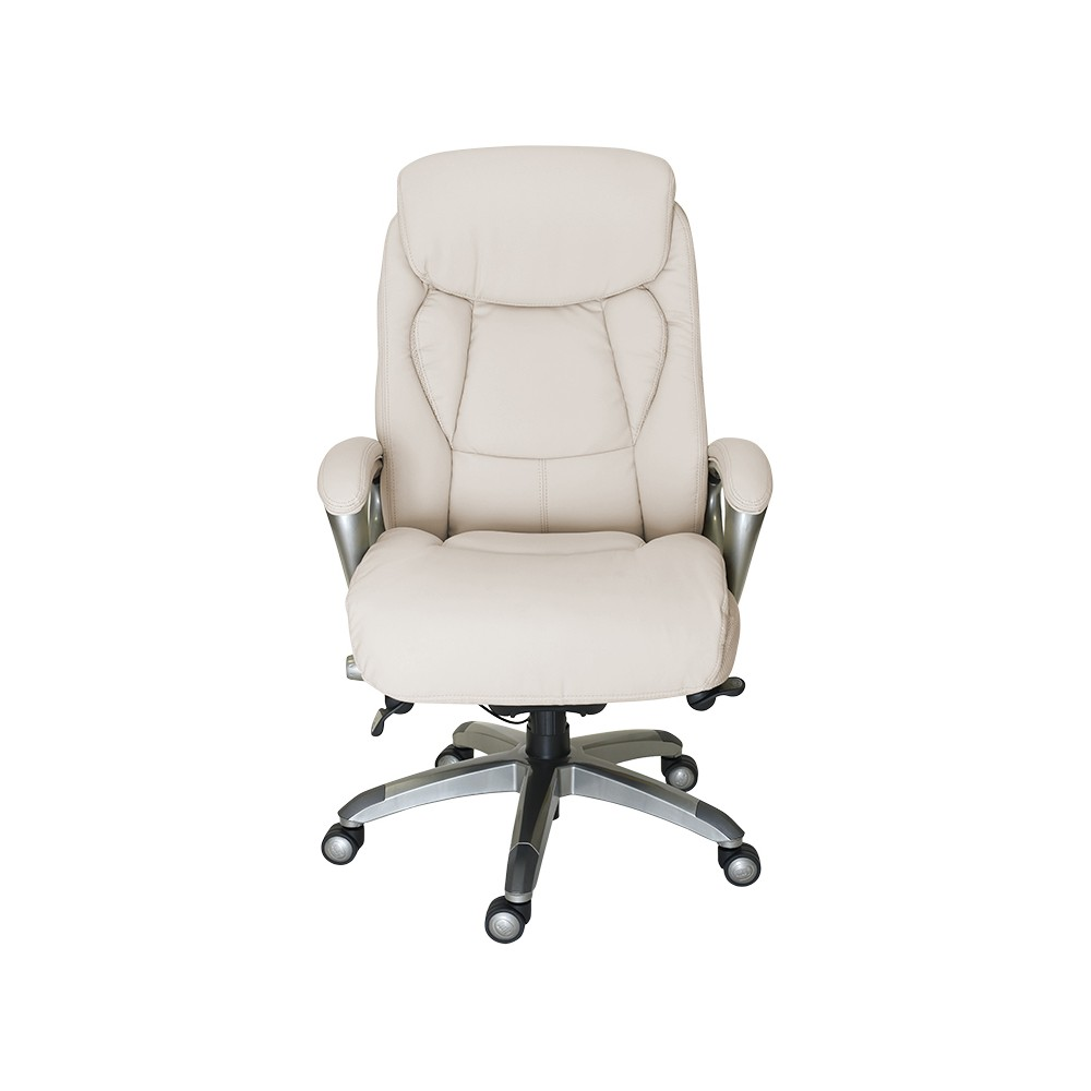 Image of Works Executive Office Chair with Smart Layers Technology Inspired Ivory - Serta