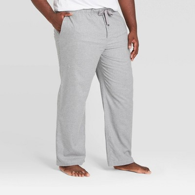 Men's Big & Tall Flannel Pajama Pants - Goodfellow & Co™ Heather Gray