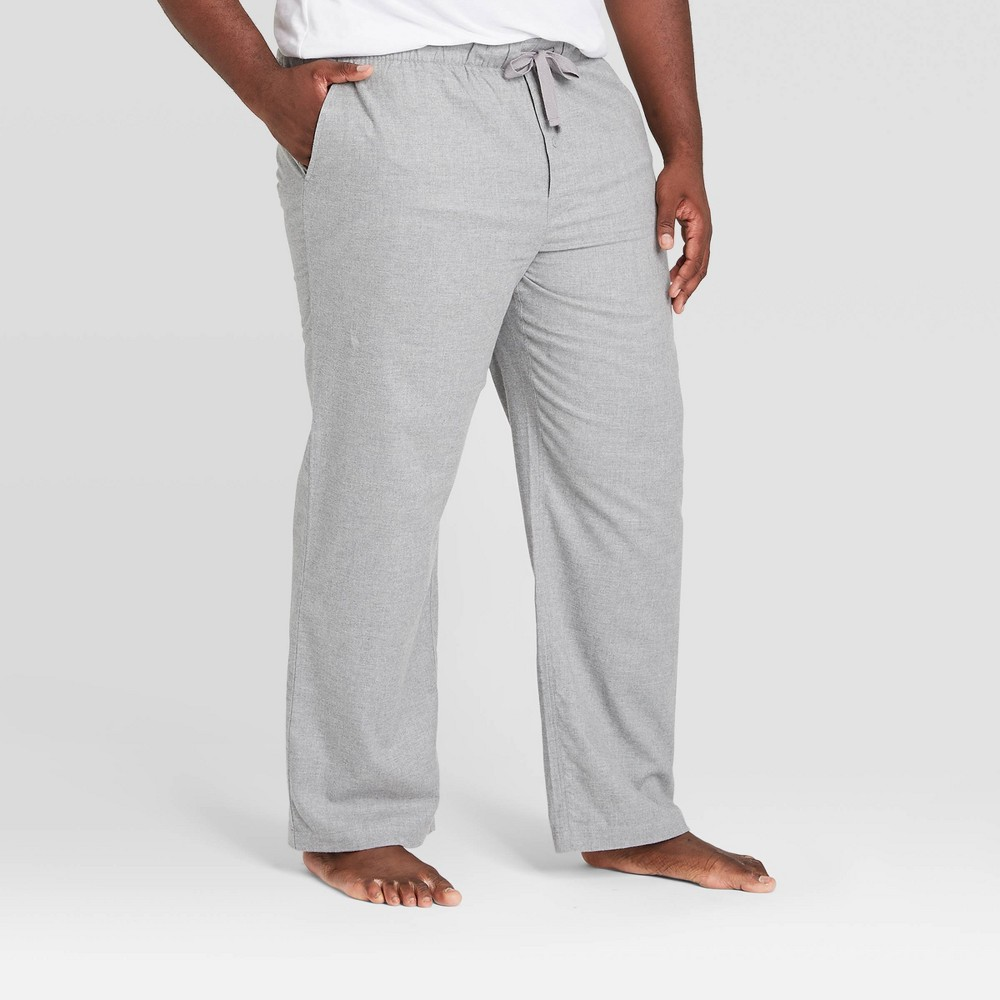 Discounts Men's Big & Tall Flannel Pajama Pants - Goodfellow & Co™ Heather Gray