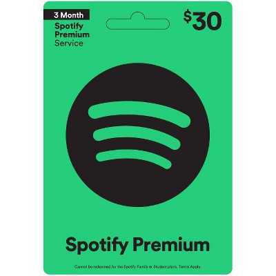 Spotify $30 (Email Delivery)