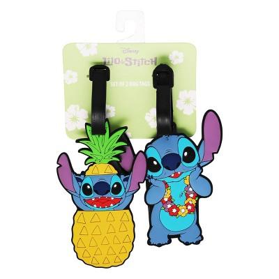 Disney Stitch 2pc Luggage Tag