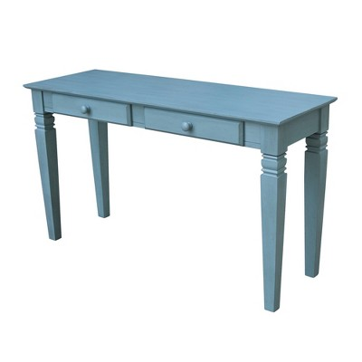 Java Console Table with 2 Drawers - International Concepts