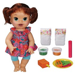 Baby Alive Super Snacks Snackin' Sara - Brunette