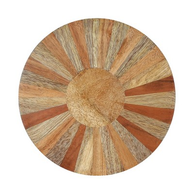 4pk Wood Round Coasters - Thirstystone