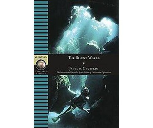 Silent World (Reprint) (Hardcover) (Jacques Yves Cousteau) - image 1 of 1
