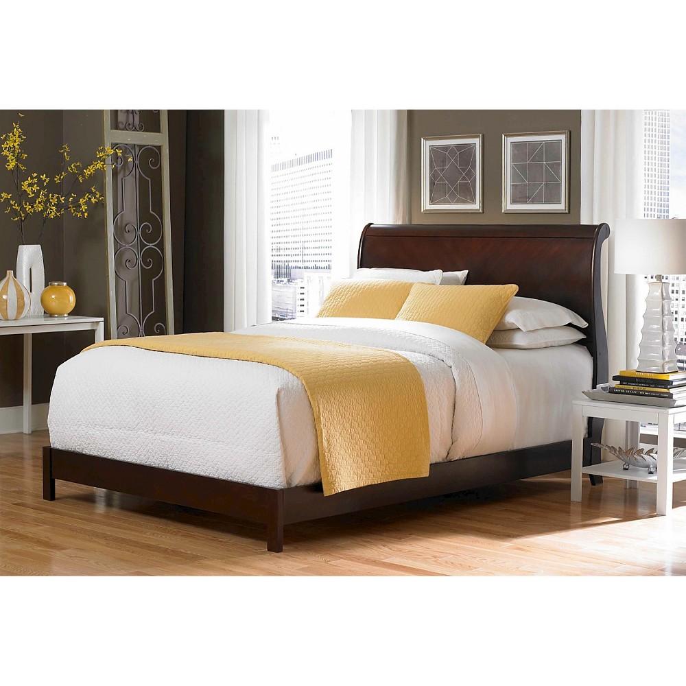 Bridgeport Bed Espresso (Queen) - Fashion Bed Group, Brown