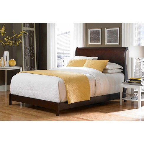 Bridgeport Bed Espresso Queen Fashion Bed Group Target