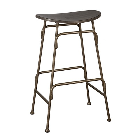 Strange Mitchell Backless Counter Stool Black Old Bronze Hillsdale Furniture Ocoug Best Dining Table And Chair Ideas Images Ocougorg