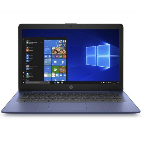 "HP Stream 14 14"" Laptop AMD A4 4GB RAM 32GB eMMC Royal Blue - AMD A4-9120e Dual Core - AMD Radeon R3 Graphics - Tunes Stereo Speakers - image 1 of 4"