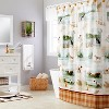 Adirondack Dogs Shower Curtain Multi - Colored - Saturday Knight Ltd. - image 3 of 3