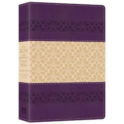 The KJV Cross Reference Study Bible [Feminine] - by  Christopher D Hudson (Paperback)