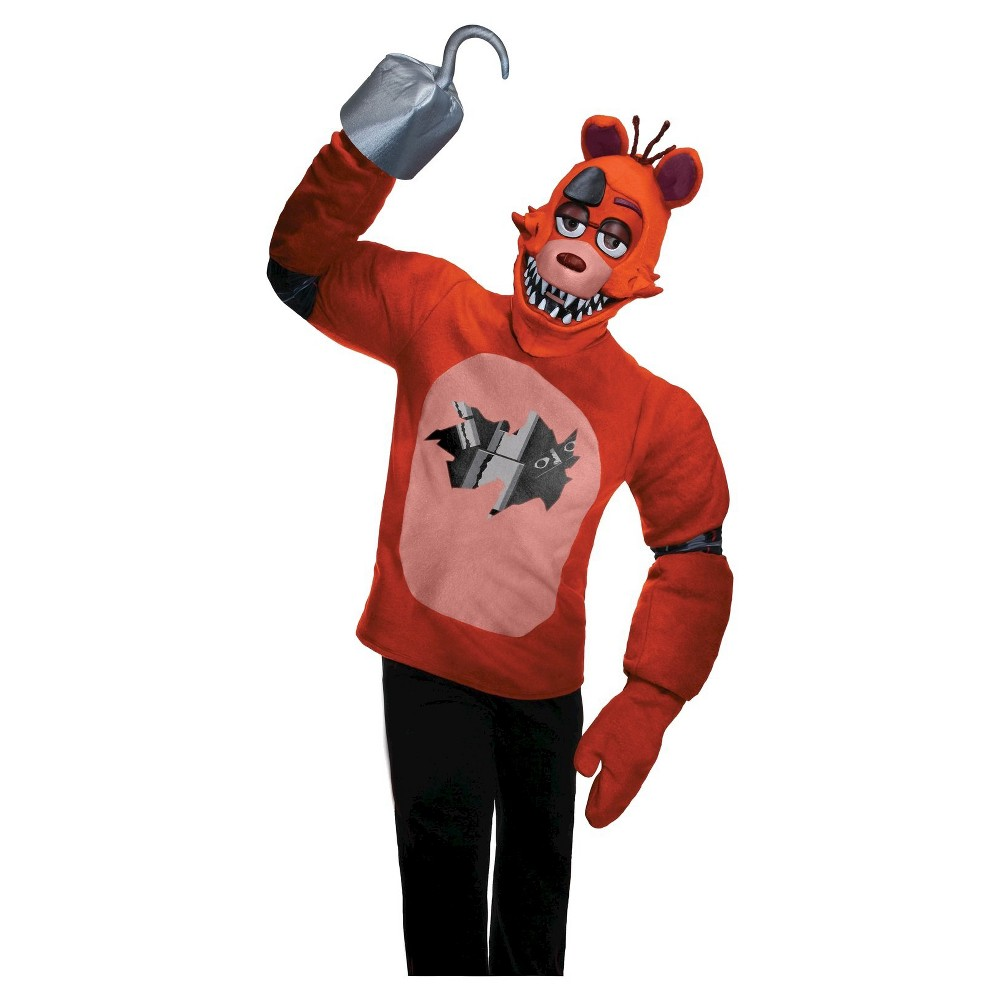Five Nights at Freddy's Foxy Teen Costume Small, Kids Unisex