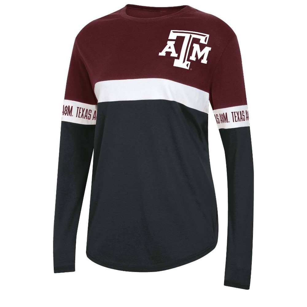Ncaa Texas A 38 M Aggies Women 39 S Long Sleeve T Shirt L