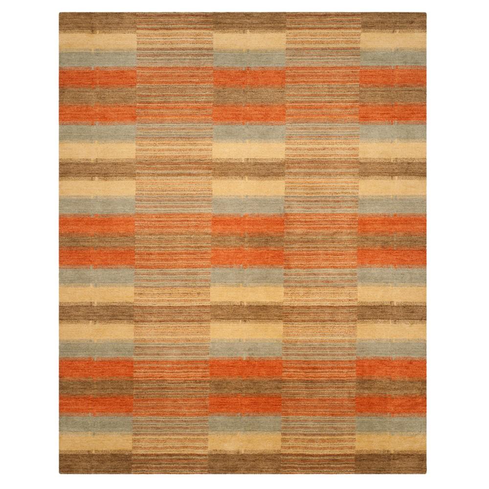 Stripe Loomed Area Rug 8'X10' - Safavieh, Multi-Colored