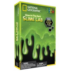 National Geographic Glow-in-the-Dark Slime Kit
