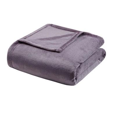 Microlight Plush Blanket (Full/Queen)Lavender