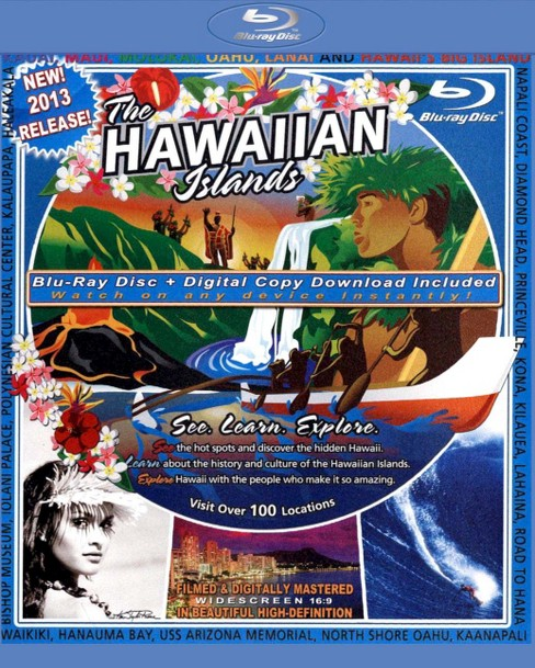 The Video Postcard of the Hawaiian Islands (Blu-ray) - image 1 of 1
