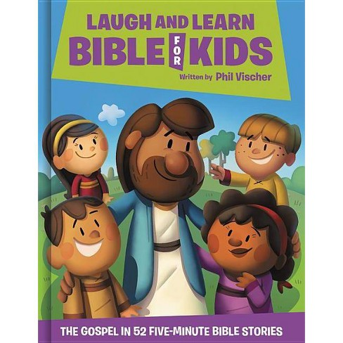 Laugh and Learn Bible for Kids - by  Phil Vischer (Hardcover) - image 1 of 1