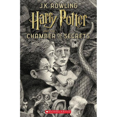 Harry Potter and the Chamber of Secrets -  (Harry Potter) by J. K. Rowling (Paperback) - image 1 of 1
