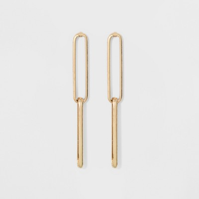 Link Earrings - A New Day™ Gold