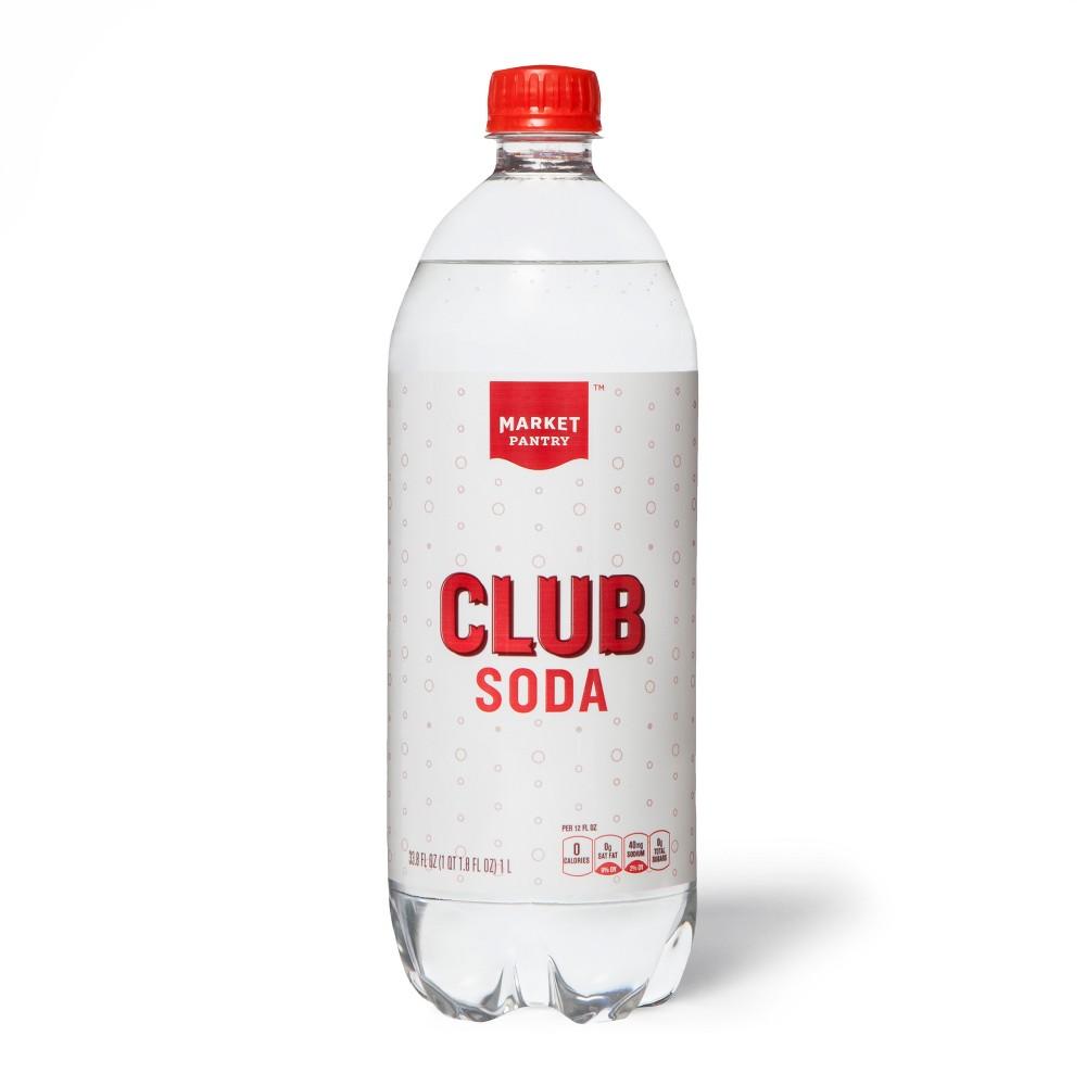 Club Soda - 33.8 fl oz Bottle - Market Pantry