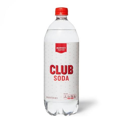 Club Soda - 33.8 fl oz Bottle - Market Pantry™ - image 1 of 1