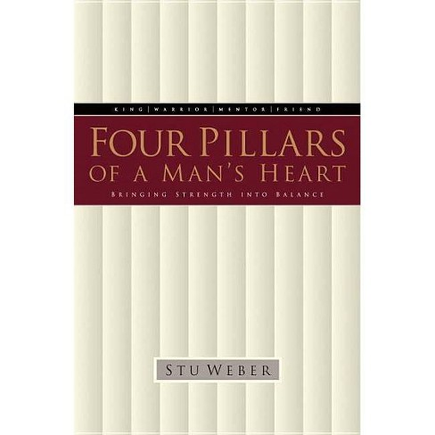 Four Pillars of a Man's Heart - by  Stu Weber (Paperback) - image 1 of 1