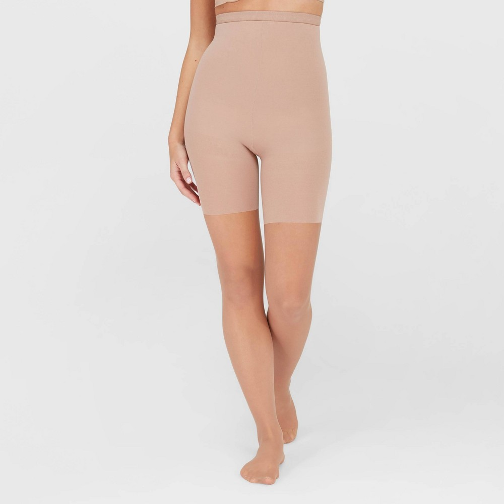 Assets By Spanx Women 39 S High Waist Perfect Pantyhose Nude Champagne 4