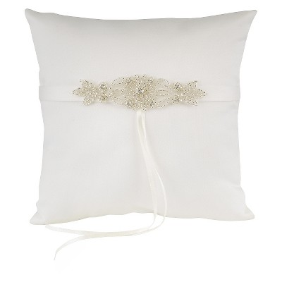 Classically Chic Ring Pillow