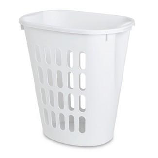 Sterilite® Oval Laundry Hamper - White