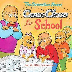 Berenstain Bears Come Clean for School (Paperback)(Jan Berenstain)