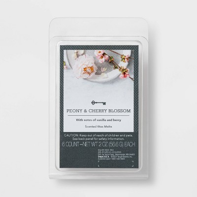 6pc Peony and Cherry Blossom Melts - Threshold™