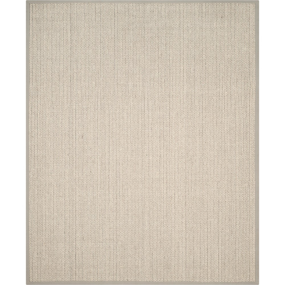 Solid Loomed Area Rug Gray