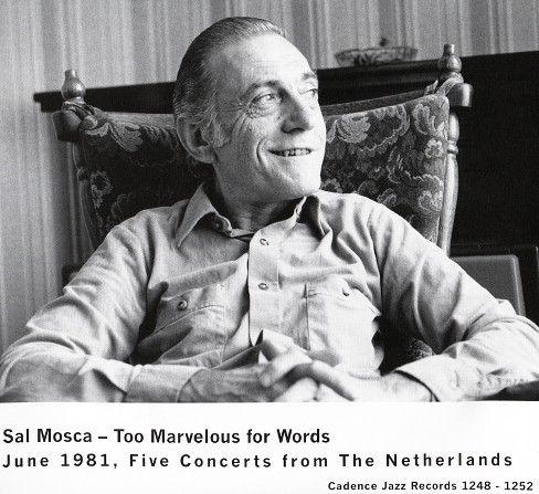 Sal mosca - Too marvelous for words (CD) - image 1 of 1