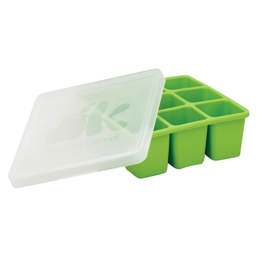 Image of NUK Flexible Freezer Tray & Lid, Green