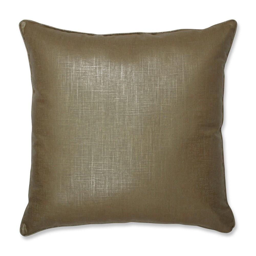 Alchemy Linen Copper Floor Pillow Copper Pillow Perfect