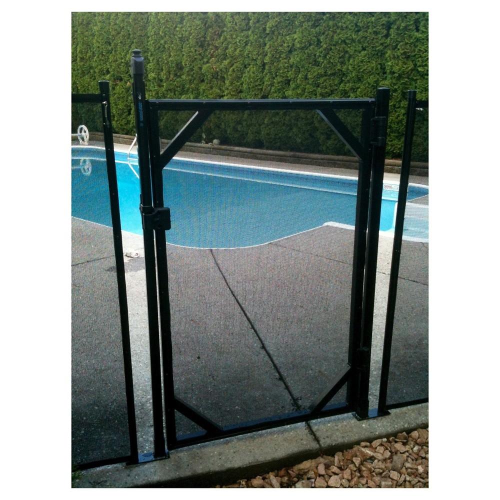 WaterWarden Self Closing Gate 5', Black