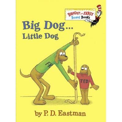 BIG DOG...LITTLE DOG (BD BK)10/03/2016