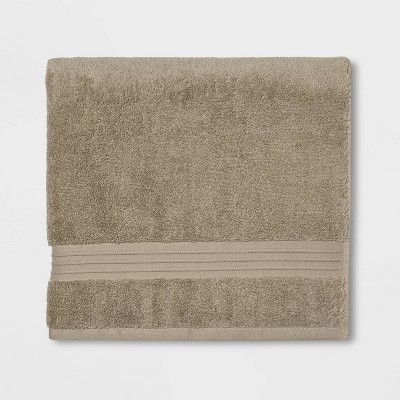 Spa Bath Towel Taupe- Threshold Signature™