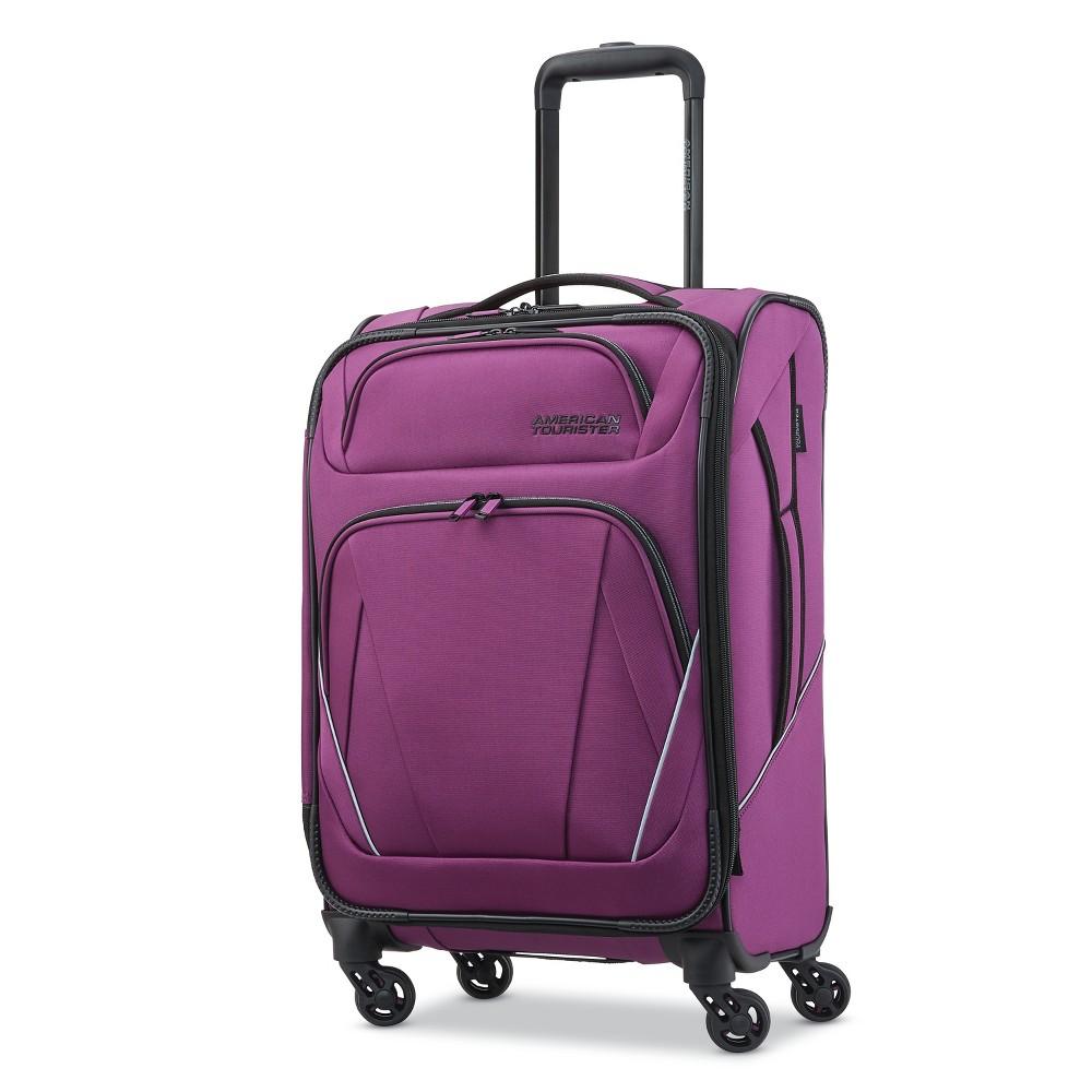 "Image of ""American Tourister 20"""" Superset Suitcase - Grape Juice, Size: Large, Purple"""