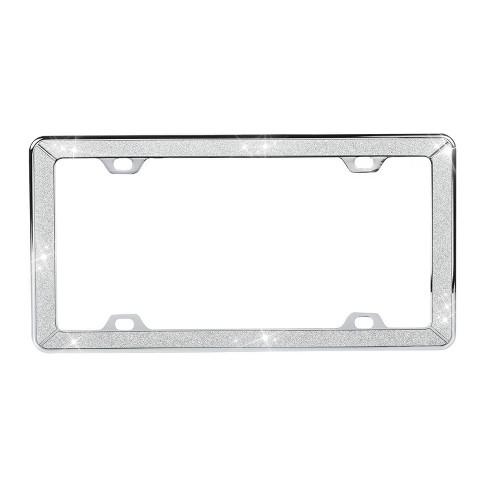 Metallica Chrome License Plate Frame