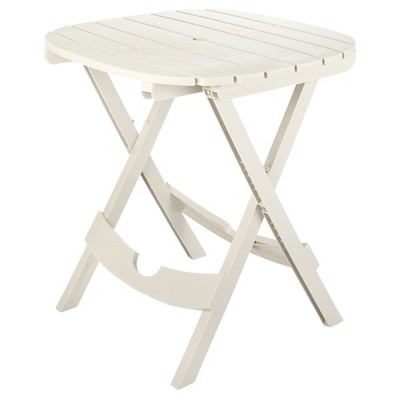 Quik Fold Café Tables - White - Adams