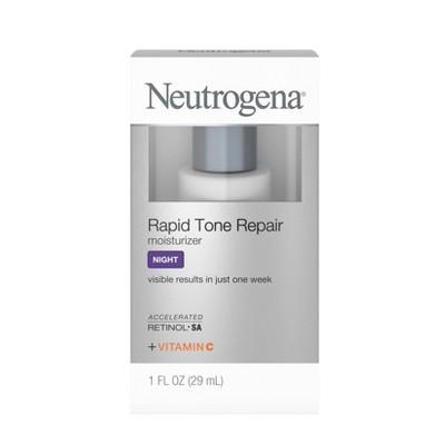 Facial Moisturizer: Neutrogena Rapid Tone Repair for Night