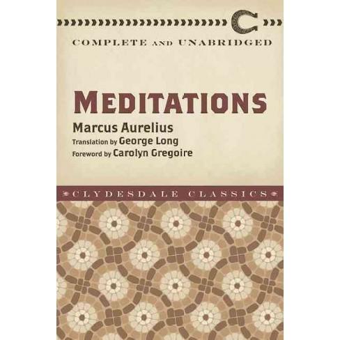 Meditations - by  Marcus Aurelius (Paperback) - image 1 of 1