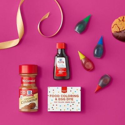 Baking Spices & Food Coloring