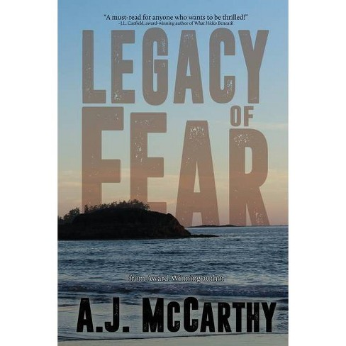 Legacy of Fear - by  A J McCarthy (Paperback) - image 1 of 1