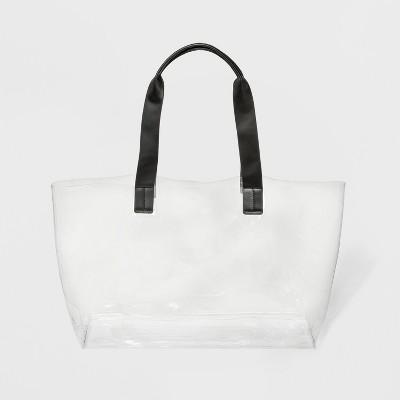 Translucent Tote Handbag - Shade & Shore™ Medium Clear